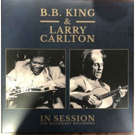 Bb King & Larry Carlton In Session 1983 Broadcast Recording LP