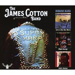 James Cotton Band Live & On The Move, High Energy, 100 Cotton CD3