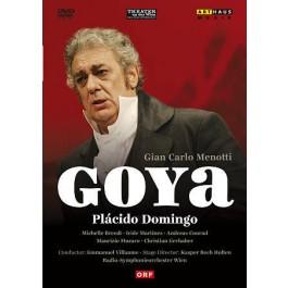 Placido Domingo Rsowien Villaume Menotti Goya DVD