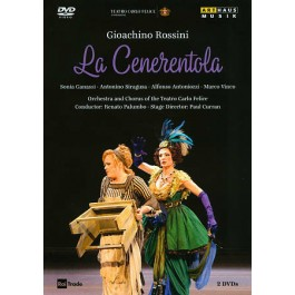 Orchestra And Chorus Of The Teatro Carlo Felice Palumbo Rossini La Cenerentola DVD