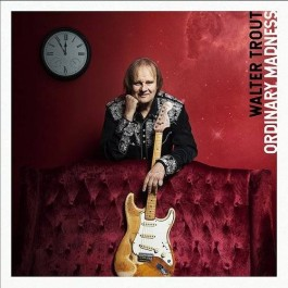 Walter Trout Ordinary Madness Red Vinyl LP2