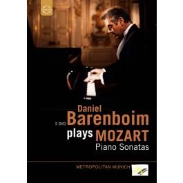 Daniel Barenboim Mozart Piano Sonatas Complete DVD3