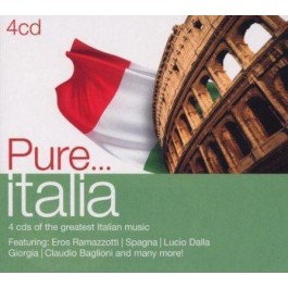 Various Artists Pure...italia CD4