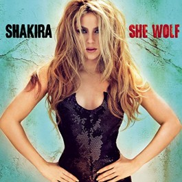 Shakira She Wolf CD