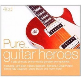 Various Artists Pure...guitar Heroes CD4