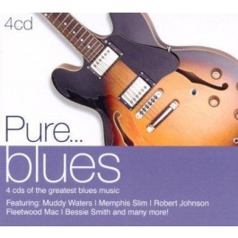 Various Artists Pure...blues CD4
