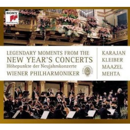 Various Artists Legendary Moments From The New Yearss Concerts CD3+DVD