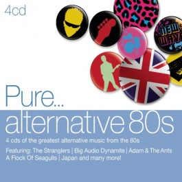 Various Artists Pure...alternative 80S CD4