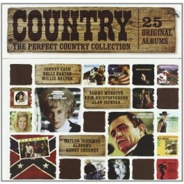 Various Artists Perfect Country Collection 25 Original Albums CD25