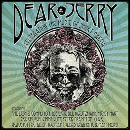 Various Artists Dear Jerry Celebrating The Music Of Jerry Garcia CD2+DVD