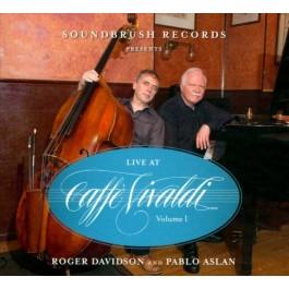 Roger Davidson Trio Live At Caffe Vivaldi Vol.1 CD