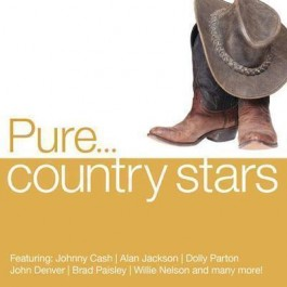 Various Artists Pure...country Stars CD4