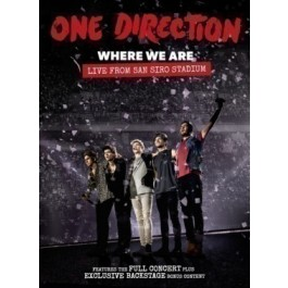 One Direction Where We Are Live From San Siro Stadium BLU-RAY