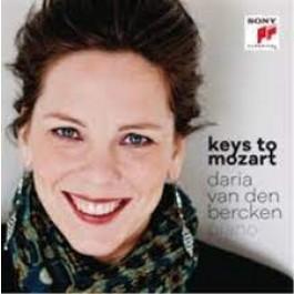 Daria Van Den Bercken Keys To Mozart CD