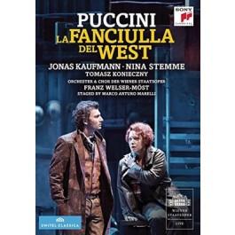 Jonas Kaufmann Puccini La Fanciulla Del West DVD