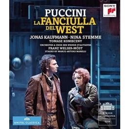 Jonas Kaufmann Puccini La Fanciulla Del West BLU-RAY
