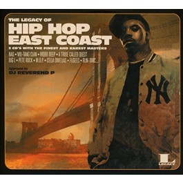 Various Artists Legacy Of Hip Hop East Coast CD3