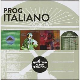 Various Artists Quattro Album Originali, Prog Italiano CD4