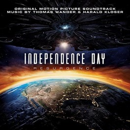 Soundtrack Independence Day Resurgence By T. Wander & H. Kloser CD