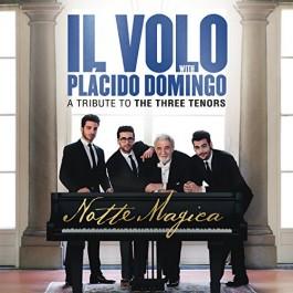 Il Volo Placido Domingo Notte Magica A Tribute To The Three Tenors CD