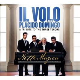 Il Volo Placido Domingo Notte Magica A Tribute To The Three Tenors DVD