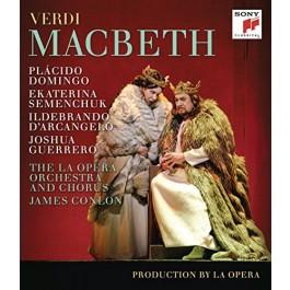 Placido Domingo Ekatarina Semenchuk Verdi Macbeth BLU-RAY
