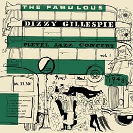 Dizzy Gillespie Fabulous Dizzy Gillespie Pleyel Jazz Concert Vol.1 1948 LP