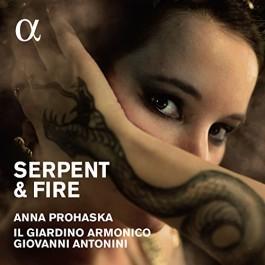 Anna Prohaska Serpent & Fire CD