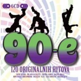 Razni Izvođači 90-E 120 Originalnih Hitova CD6