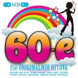 Razni Izvođači 60-E 150 Originalnih Hitova CD6