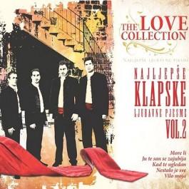 Razni Izvođači Najljepše Klapske Ljubavne Pjesme Vol 2. CD/MP3