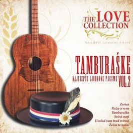 Razni Izvođači Najljepše Tamburaške Ljubavne Pjesme Vol.2 CD/MP3