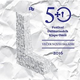 Razni Izvođači Omiš 2016 50 Festival Dalmatinskih Klapa-Večer Novih Skladbi CD/MP3