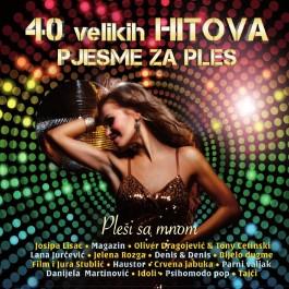 Razni Izvođači 40 Velikih Hitova Pjesme Za Ples CD2