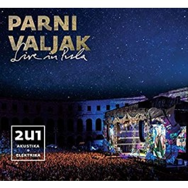 Parni Valjak Live In Pula CD2+BLU-RAY/MP3