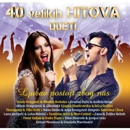 Razni Izvođači 40 Velikih Hitova Dueti CD2/MP3