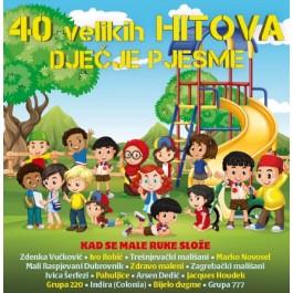 pjesme za dječji rođendan Razni Izvođači 40 Velikih Hitova Dječje Pjesme CD2/MP3 pjesme za dječji rođendan