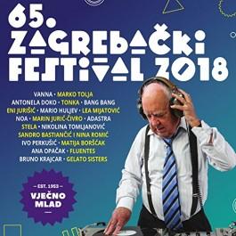 Razni Izvođači 65. Zagrebački Festival 2018 CD