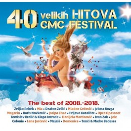 Razni Izvođači 40 Velikih Hitova Cmc Festival The Best Of 2008-2018 CD2
