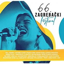 Razni Izvođači 66. Zagrebački Festival CD