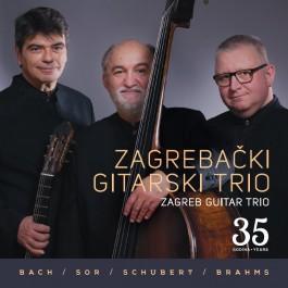 Zagrebački Gitarski Trio Bach, Sor, Schubert, Brahms CD