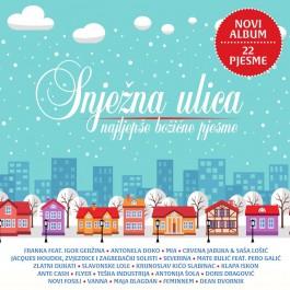 Razni Izvođači Snježna Ulica Najljepše Božićne Pjesme CD