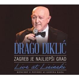 Drago Diklić Zagreb Je Najljepši Grad Live At Lisinski BLU-RAY