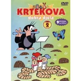 Crtić Krtekova Dobra Djela 2 DVD