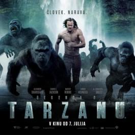 David Yates Legenda O Tarzanu BLU-RAY