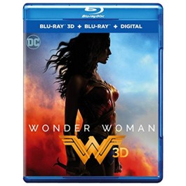 Patty Jenkins Wonder Woman BLU-RAY 3D
