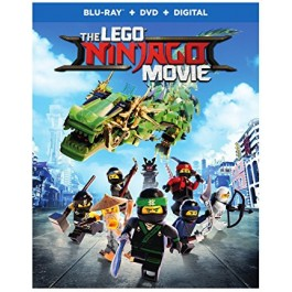 Charlie Bean Paul Fisher Bob Logan Lego Ninjago Film BLU-RAY