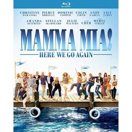 Ol Parker Mamma Mia Here We Go Again BLU-RAY