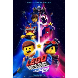 Mike Mitchell Lego Film 2 BLU-RAY