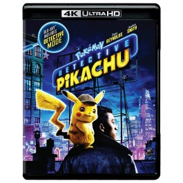 Rob Letterman Pokemon Detektiv Pikachu 4K Ultra Hd BLU-RAY